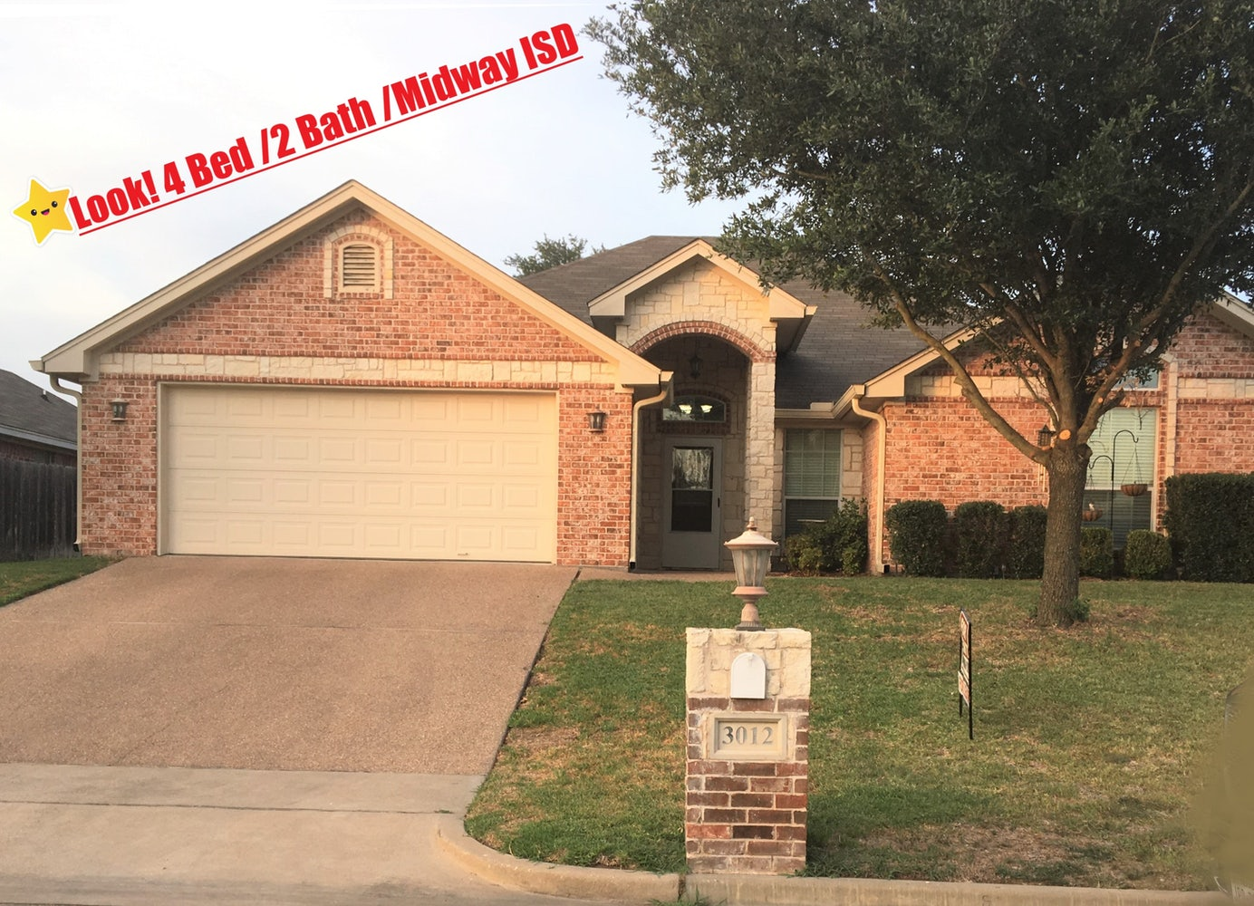 4 bath/2 bed/Midway ISD | Apply | Cozy